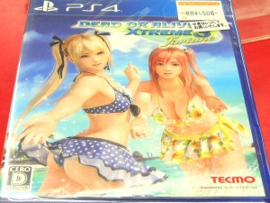 PS4 DEAD OR ALIVE XTREME 3 Fortune | ハードオフ西尾店