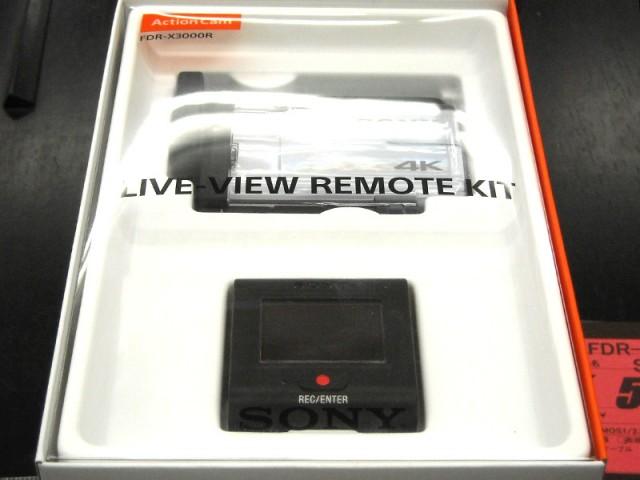 SONY アクションカメラ FDR-X3000R | ハードオフ西尾店