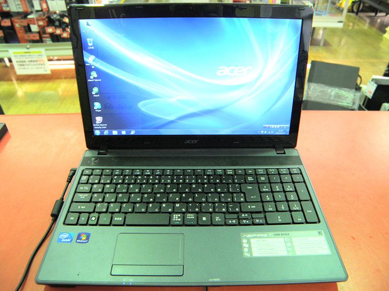 acer ノートパソコン Aspire 5349-BT824 | ハードオフ安城店