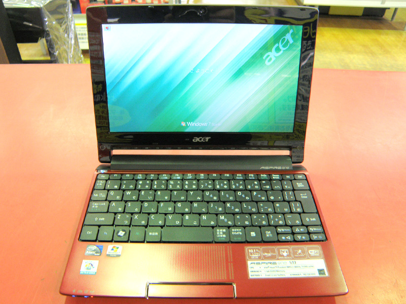 acer ノートパソコン Aspire one 533-RR11 | ハードオフ安城店