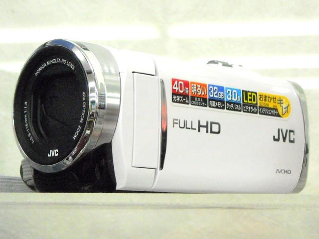 JVC ハイビジョンデジタルビデオカメラ GZ-E265 | ハードオフ西尾店