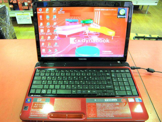 TOSHIBA ノートパソコン PT35036ASFR | ハードオフ安城店