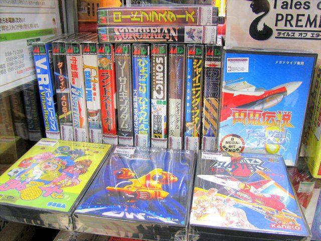 メガドライブ ゲームカセット多数入荷しました | ハードオフ三河安城店