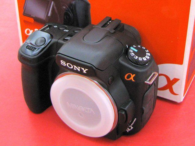 SONY デジタル一眼レフカメラ α350 DSLR-A350   ハードオフ三河安城店