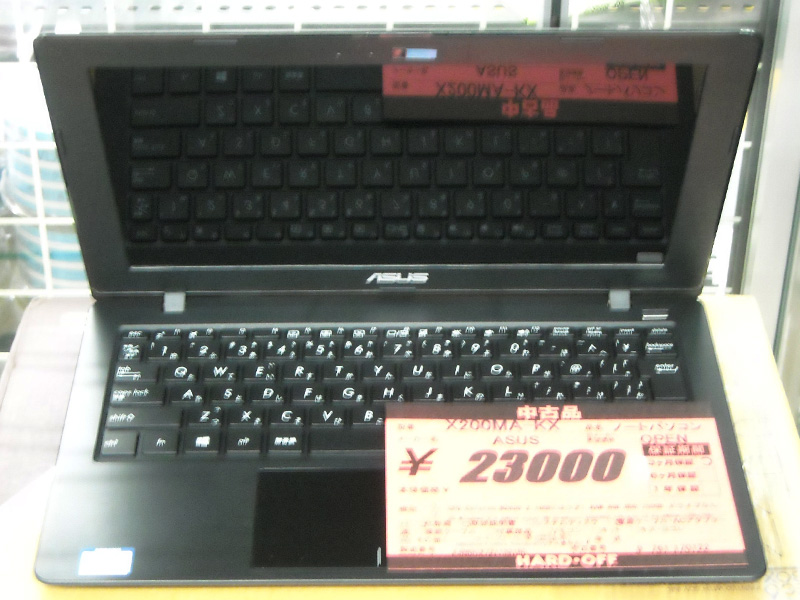 ASUS ノートパソコン X200MA-KX | ハードオフ西尾店