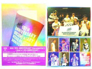 DVD AAA 10周年 Documentary 初回生産限定盤 | ハードオフ安城店