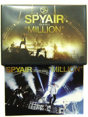 "DVD SPYAIR TOUR 2013""MILLION"" 