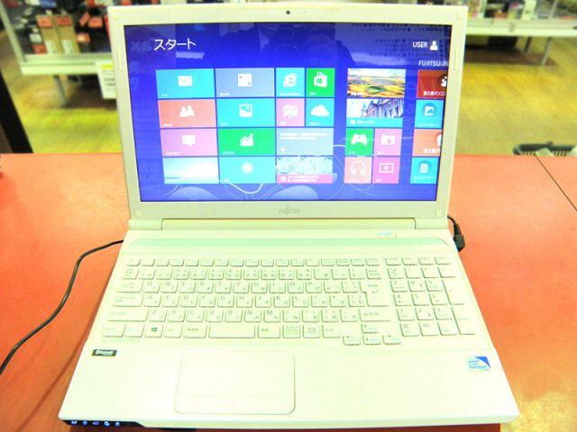 FUJITSU ノートパソコン FMVA42KW | ハードオフ安城店