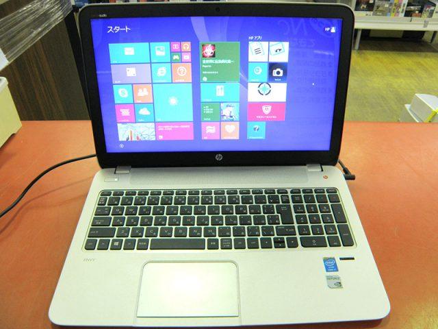 HP ノートパソコン ENVY15-j131TX | ハードオフ安城店