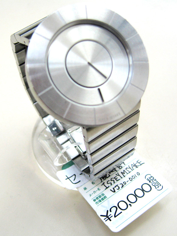 ISSEY MIYAKE 腕時計 TO シルバー VJ20-0010 | オフハウス三河安城店