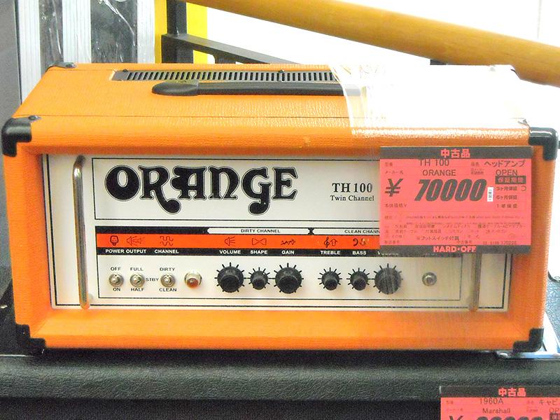 ORANGE ギターヘッドアンプ TH 100 | ハードオフ西尾店
