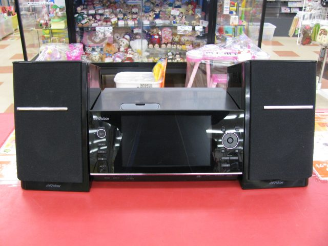 JVC ワンセグ対応 CDコンポ NX-TC7-B | ハードオフ三河安城店