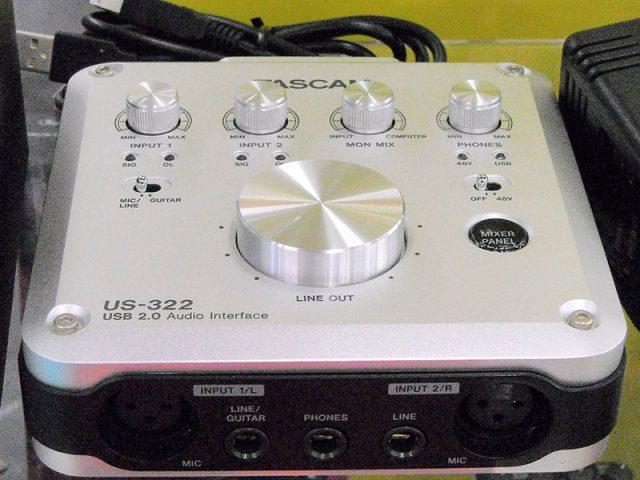 TASCAM オーディオインターフェース US-322 | ハードオフ西尾店