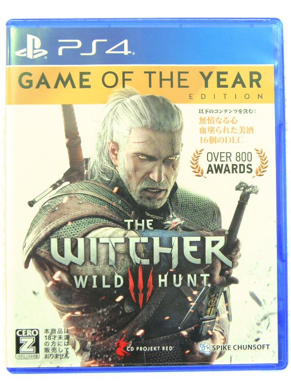 PS4 ウィッチャー3 ワイルドハント | ハードオフ安城店