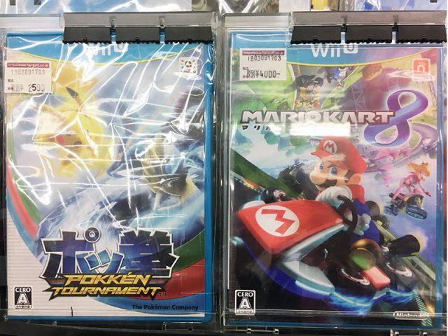 WiiU『マリオカート8』『ポッ拳』| ハードオフ三河安城店