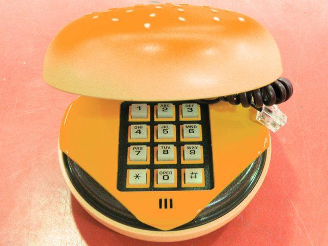 アメリカ雑貨 ハンバーガー型電話機 NP-301 | ハードオフ安城店