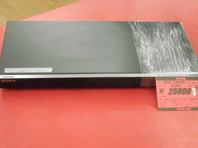SONY BD/DVDレコーダー BDZ-EW500 | ハードオフ西尾店