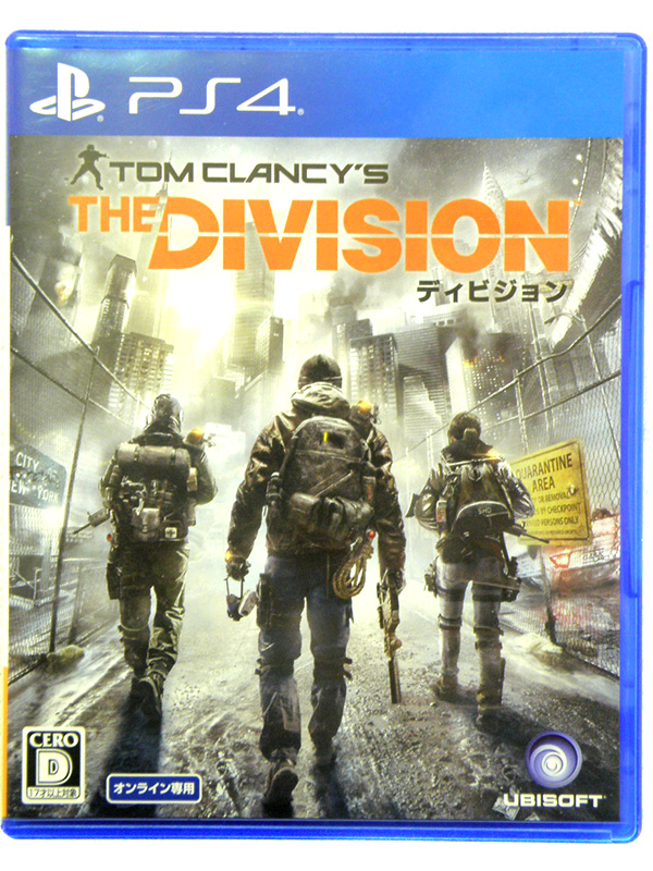PS4 ディビジョン TOM CLANCY'S THE DIVISION | ハードオフ安城店