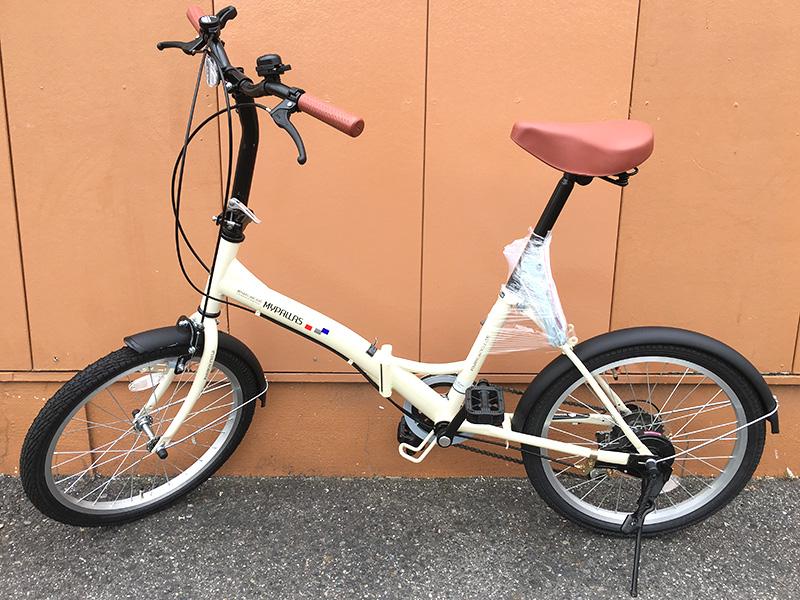 変速機付き折りたたみ自転車入荷しました! | オフハウス豊田上郷店