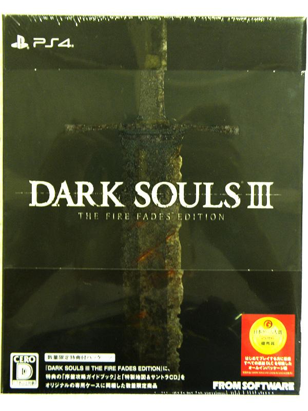 PS4 DARK SOULS(ダークソウル)III THE FIRE FADES EDITION | ハードオフ安城店