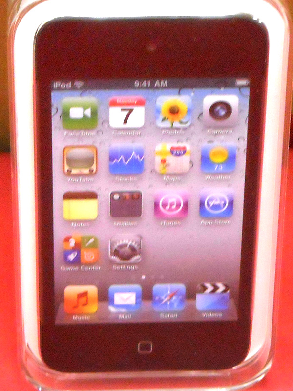 Apple メディアプレーヤー iPod touch PC547J/A | ハードオフ西尾店