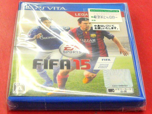 PS VITA SPORTS FIFA15 | ハードオフ西尾店