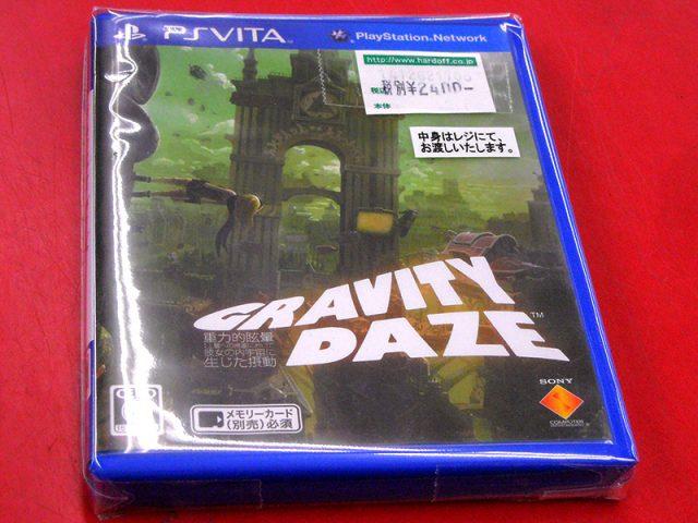 PS VITA GRAVITY DAZE(グラビティデイズ) | ハードオフ西尾店