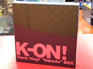 "EP K-ON! けいおん! 7inch Vinyl ""Donuts"" BOX | ハードオフ豊田上郷店"