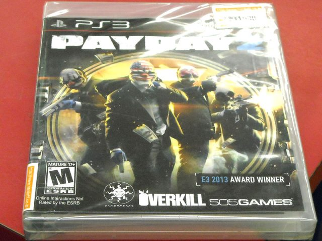 PS3 PAYDAY(ペイデイ)2 輸入北米版 | ハードオフ西尾店