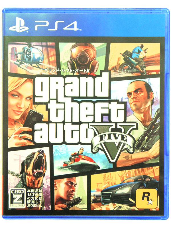 PS4 グランド・セフト・オートV | ハードオフ安城店