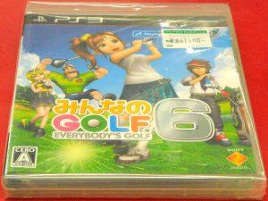PS3 みんなのGOLF6 | ハードオフ西尾店