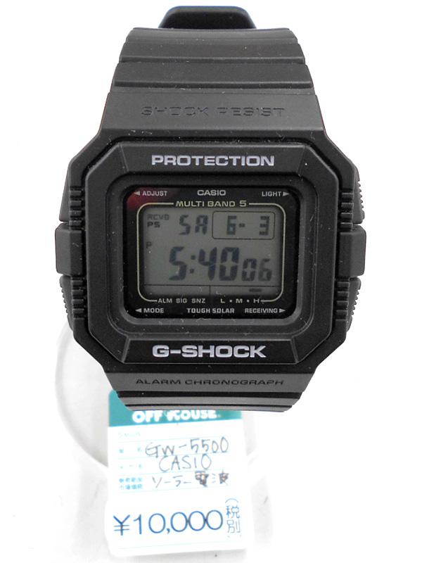 CASIO 腕時計 G-SHOCK SHOCK RESIST GW-5500 | オフハウス西尾店