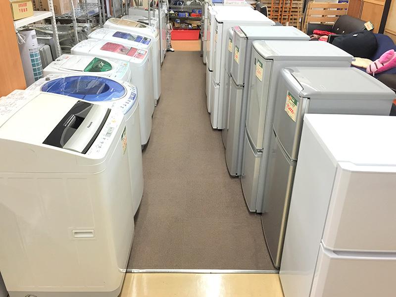 冷蔵庫・洗濯機充実してます! | オフハウス三河安城店