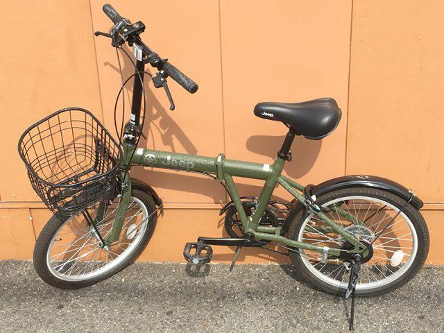 JEEPの折りたたみ自転車 JE-206G 入荷! | オフハウス豊田上郷店