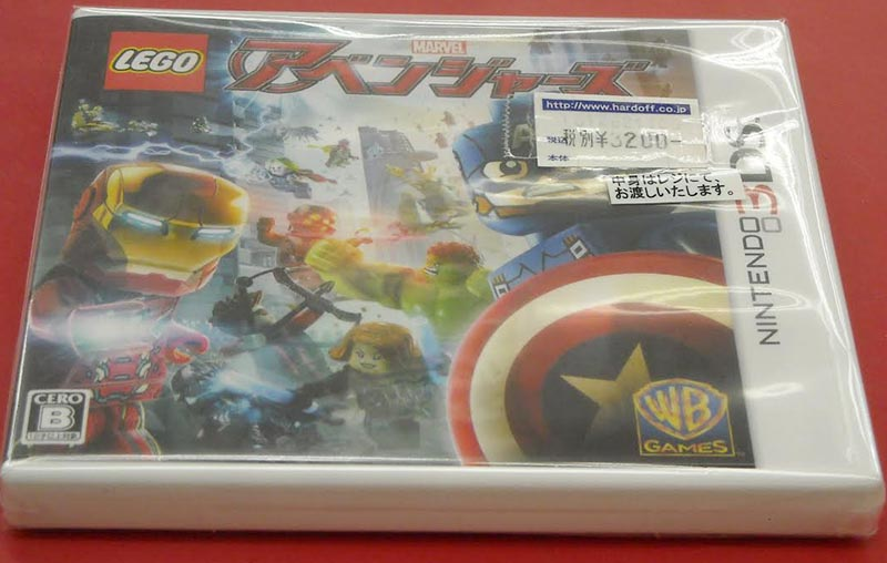 ワーナーゲームス/任天堂 LEGO MARVEL | ハードオフ西尾店