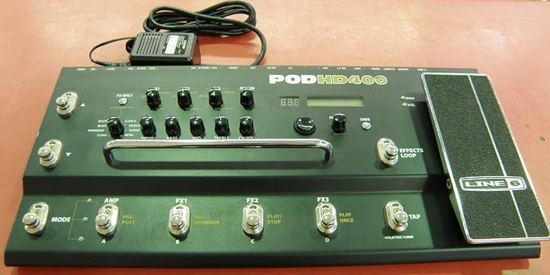 LINE6 POD HD400  アンプシュミレーター| ハードオフ安城店