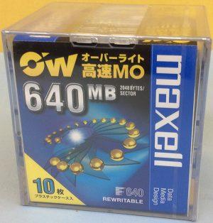 maxell MOディスク RO-640.B10P| ハードオフ豊田上郷店