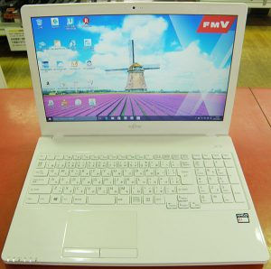FUJITSU  ノートパソコン FMVA30XW| ハードオフ安城店