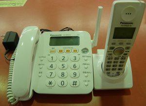 Panasonic  コードレス電話 VE-GP22DL-W| ハードオフ安城店
