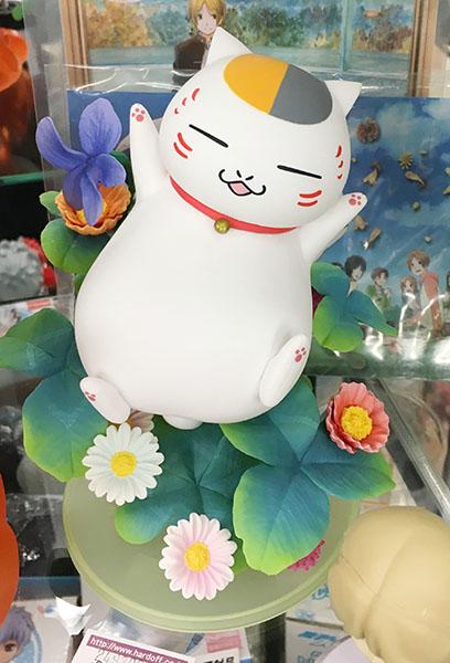 夏目友人帳 ニャンコ先生 フィギュア ポストカード付き| ハードオフ三河安城店