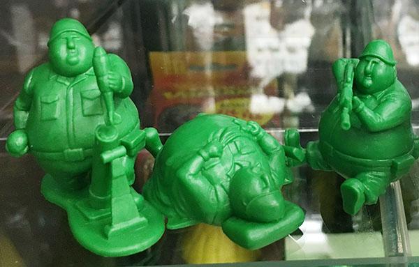 緑の兵隊 ぽっちゃりソルジャー 3体セット| ハードオフ三河安城店