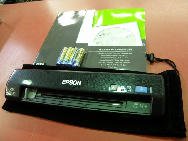 EPSON  スキャナー DS-40| ハードオフ安城店