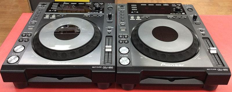 Pioneer CDJ CDJ-850-K 2台セット| ハードオフ豊田上郷店