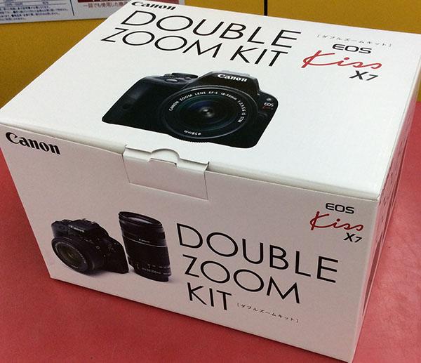 Canon デジタル一眼 EOS kiss X7 ダブルズームキット| ハードオフ豊田上郷店