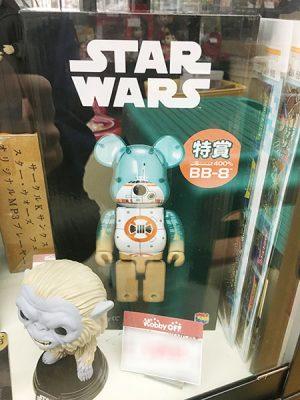 HAPPYくじ STARWARS スターウォーズ特賞 BE@RBICK 400% BB-8入荷しました| ハードオフ三河安城店