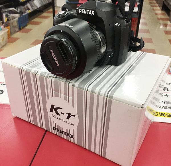 デジタル一眼レフ レンズキット PENTAX K-r DAL 18-55mm F3.5-5.8AL| ハードオフ三河安城店