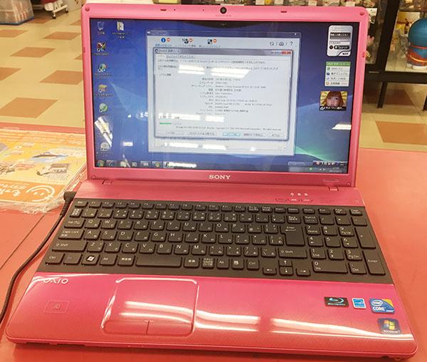 SONY  ノートPC VPCEB18FJ 買い取りできます!| ハードオフ三河安城店