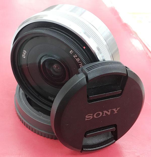SONY 単焦点レンズ E 16mm F2.8 ソニー Eマウント用 SEL16F28入荷しました| ハードオフ三河安城店