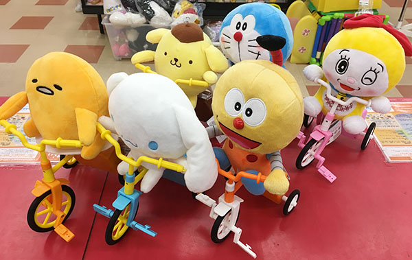 子供ウケ抜群!三輪車集団入荷しました。| ハードオフ三河安城店