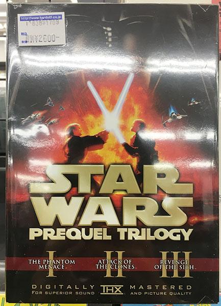 DVD-BOX STAR WARS スターウォーズ エピソードⅠⅡⅢ| ハードオフ三河安城店